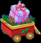 Polka Dot Christmas Cookie Mystery Box
