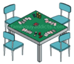 Royal Flush Poker Table