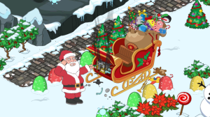 Santa's Broke Down Sleigh