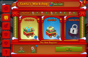 Santa's Workshop Wrap