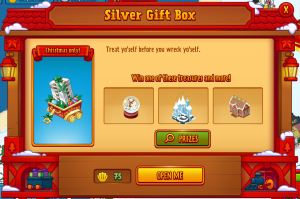 Silver Clam Gift Box