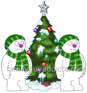 Snowmen  Christmas Tree