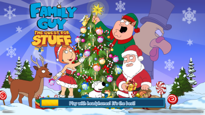Splash Screen Christmas Quahog 2014