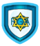 Star of David Shield
