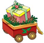 Striped Gift Box