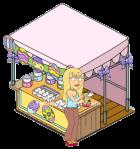 Jillian and Easter Egg Booth