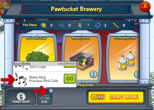 Pawtucket Brewery Scroll and GO