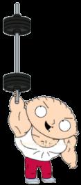 Steroid Stewie 3