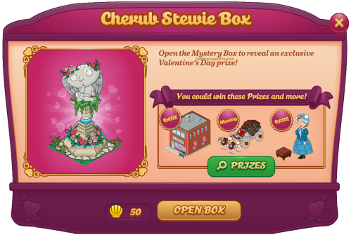 Cherub Stewie Box