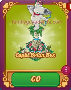 Cupid Brian Box Featured Menu