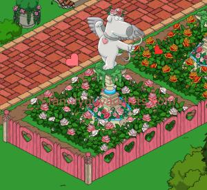 Cupid Brian Statue Event Area
