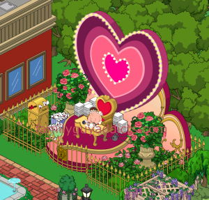 Cupid Note Writing Event Area