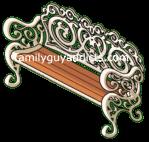 Ida Cheryl Cupid Park Bench 1