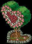 Valentine's Topiary Pink