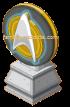 Star Fleet Insignia Statue