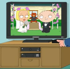 Stewie & Olivia Married
