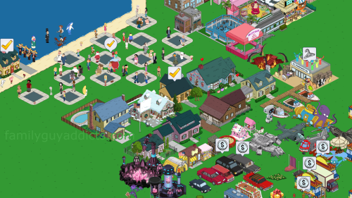 Tribbles in Quahog Zoomed Out