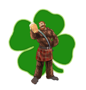 Wookiee St Patrick's Day
