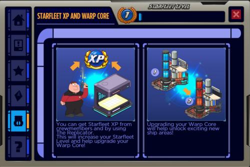 xp and warp code