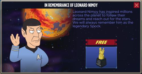In Rememberance of Leonard Nimoy