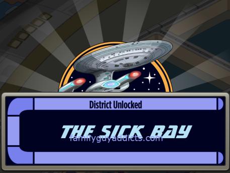Sick Bay Unlocked