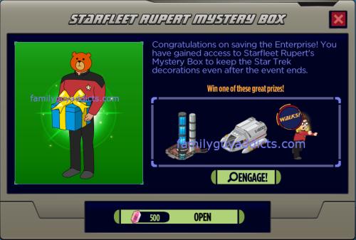 Starfleet Rupert Mystery Box