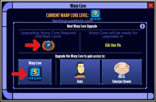 Warp Core Level 5