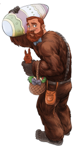 Wookiee Easter