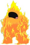 Angry Fire Creature