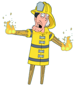 Firefighter Seamus