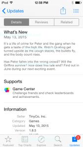 iOS Spoiler 5 13 15