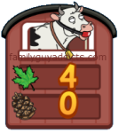 Maple Leaf & Pine Cone Counter Icon