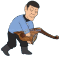 Spock Play Lute