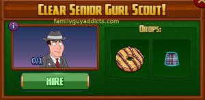 Clear Senior Gurl Scout