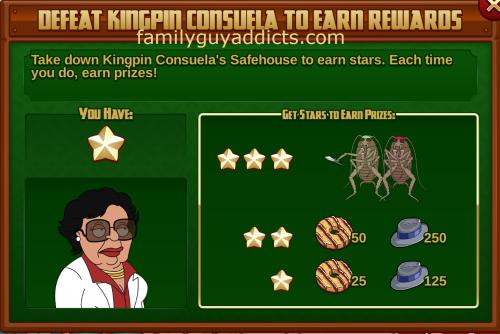 Defeat Kingpin Consuela