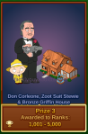 Don Corleone, Zoot Suit Stewie, and Bronze Griffin House Prize #3