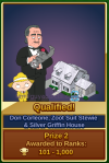 Don Corleone, Zoot Suit Stewie and Silver Griffin House Prize #2