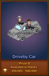 Driveby Car Prize #8