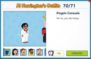 Kingpin Consuela Al's