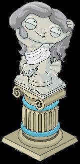 Mafia Stewie Mystery Box Statue
