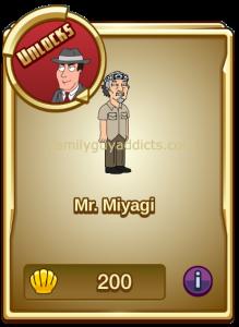 Mr Miyagi Menu