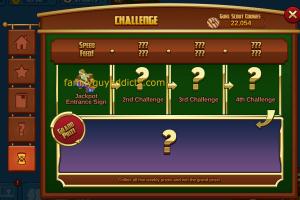 New Challenge Menu