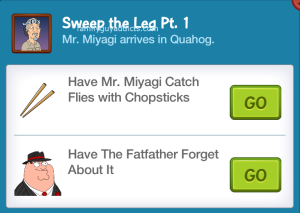 Sweep the Leg Part 1