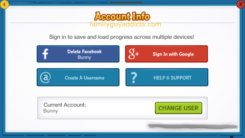 Account Info Change User Facebook