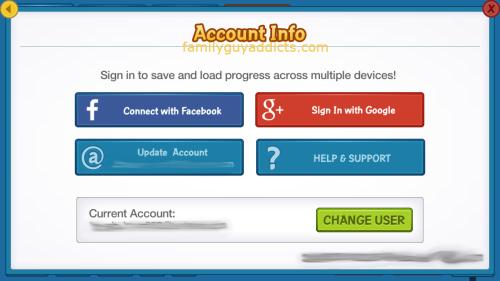 Account Info Change User