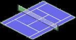 Chip's Tiny Tennis Court