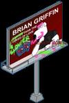 Defaced Brian Billboard