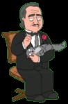 Don Corleone Get Pet His Cat