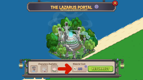 Lazarus Portal Enough Zombie Parts