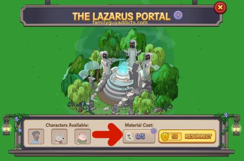 Lazarus Portal Not Enough Zombie Parts